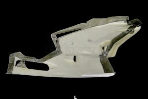 Ducati 749,999 2003-2006 Boční díl Levý Strada s výřezem na stojan, GFK