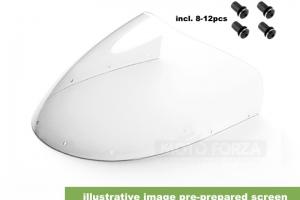Kapotáž se světlem 2x90mm - Set  CR 500cc /CR 450cc