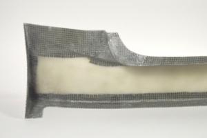 Honda CRX Sforza Racing Team - Aero Body KIT GT STYLE  - Left side skirt, GFK fibreglas