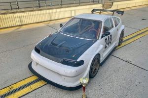 Honda CRX Sforza Racing Team - Aero Body KIT GT STYLE - Motoforza parts