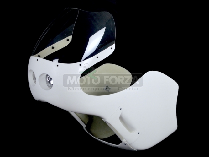 Honda CB 250,350,450,500 Verkleidung - Satz mit Scheinwerfer 2x90mm - Honda CR 500cc /CR 450cc, GFK