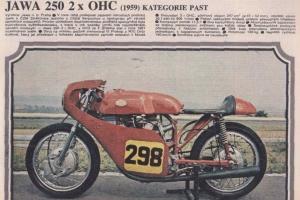 Sedlo Jawa - UNI 50-125cc - UNI cafe racer - CKB Vostok - Villa