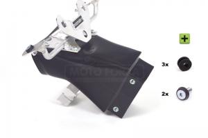 CONVERSION SET ZX6R 2012Kawasaki ZX-6R Ninja 2009-2012 Ram Air Kanalle Motoforza + Verkleidungshalter