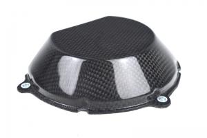 Víko spojky - poloviční , Ducati, Carbon