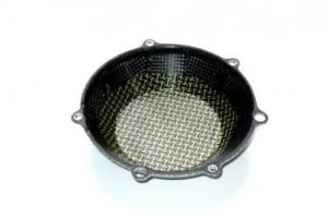 Víko spojky Titanium silver / Kevlar-Carbon