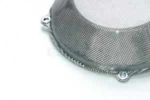 Clutch cap Titanium silver