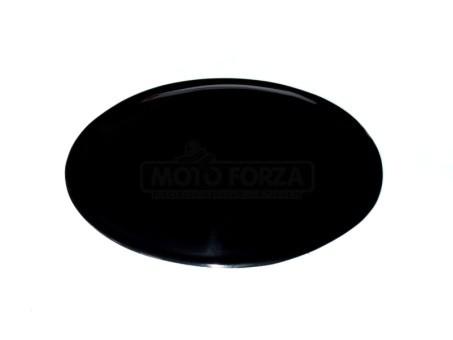 Number plate-black