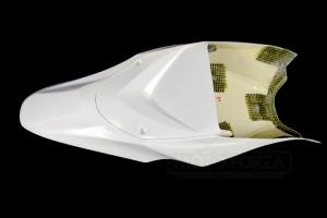 Suzuki GSXR 1000 2017-  sedlo racing verze 2   pro nalepení pěny, GFK - se spodním krytem sedla