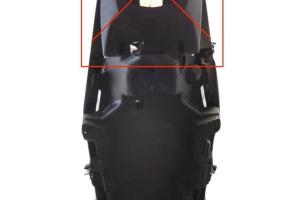 Suzuki GSXR 1000 2017-  spodní kryt sedla nahrazuje tento originální plastový díl