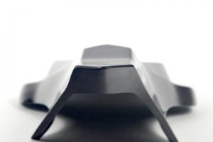 Yamaha YZF R6 2017- Spodní kryt sedla podběh Racing, GFK-probarvený černý