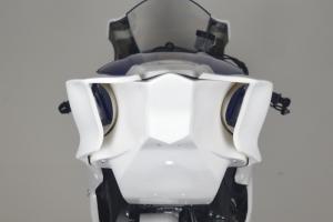Yamaha YZF R6 2017- Spodní kryt sedla podběh Racing, GFK - na moto