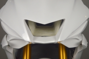 Yamaha YZR R6 2017- Vrchní díl racing.malý, GFK - na moto