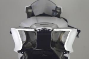 Yamaha YZF R6 2017- Spodní kryt sedla podběh Racing, GFK probarvený černý - na moto